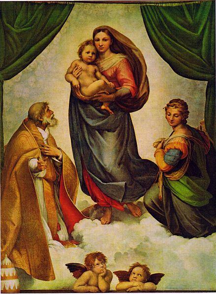 Raffaello_Sanzio_-_Madonna_Sistina