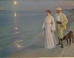 160px-P_S_Krøyer_1899_-_Sommeraften_ved_Skagens_strand._Kunstneren_og_hans_hustru