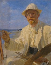 220px-P_S_Krøyer_1897_-_Selvportræt