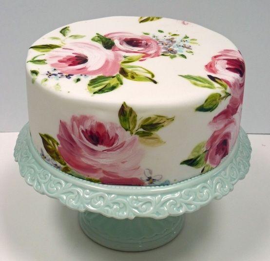 tort kwiaty n
